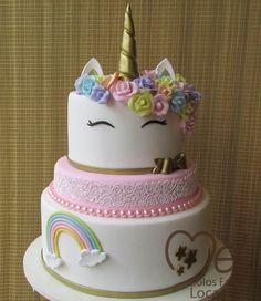 Shared Birthday Parties, Girl Birthday Themes, Unicorn Birthday Parties, Unicorn Foods, Unicorn Cakes, Little Pony Cake, Girly Cakes, Unicorn Baby Shower, Cupcake Party