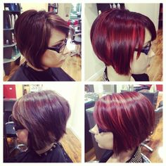 Livening up the lives of ladies everywhere! WELLA reds are the best!
