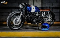 RocketGarage Cafe Racer: 32PROJ. Honda CB550 FOUR 1978