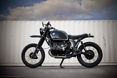 1974 BMW R90 ENDURO by Northeast Sportcar    Nicely Restored and Modified Bike, Renthal, Acewell, Continental TKC80, Tuned with 02 Sen...