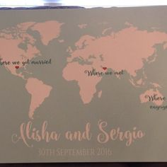 Httpsetsylisting281607772wedding guest book wedding guest book alternative world map guest book canvas or poster long distance relationship gumiabroncs Image collections