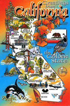 California Map Clip Art Clipart Best  graphics  Pinterest  Art