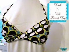Etcetorize: Twist and Tie Bikini Top
