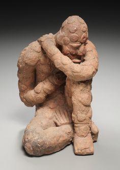 Western Sudan, Mali, Inland Niger Delta, possibly 14th-17th century, terracotta, Overall - h:19.70 cm (h:7 3/4 inches). John L. Severance Fund 1985.199