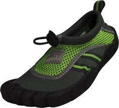 Norty  Little Boys Skeletoe Aqua Water Shoe Grey Lime 388902MUSLittleKid ** Learn more by visiting the image link.Note:It is affiliate link to Amazon. #night