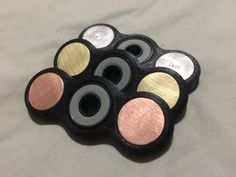 EDC Fidget Spinner with bearing by G5industries on Etsy