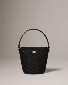 Weaved raffia Ingrid bag/Dolce & Gabbana