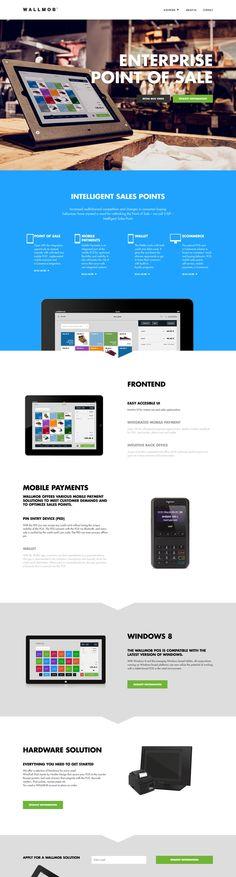 Wallmob #flat #web #design