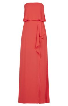 Guest Dresses to Wear to a Summer Wedding (That Won't Upstage the Bride) Spring Dresses, Dresses For Work, Best Friend Wedding, Strapless Gown, Fashion Addict, Get Dressed, Bridesmaid Dresses, Bridesmaid Ideas, Party Dress
