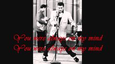 "Elvis Presley ""Always on my mind"" with Lyrics on Screen"