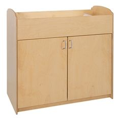 Serenity Changing Table   Natural