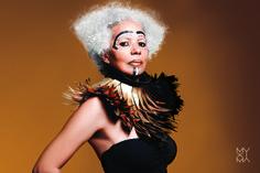 Muxima Bio © 2015 Photo by Gonçalo Claro Hair stylist: Elsa Brandão Make-up artist: Carina Quintiliano Styling: Josine Monalisa, Model: Elizabete Taylor