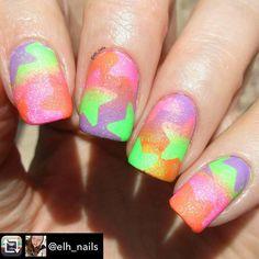 Repost from @elh_nails using @RepostRegramApp - The Star stencils are from #twinkledt. I used @glitterlambs Sun Dazzler Glaze, Salon Perfect Sugar Cube, Loopy Lime and Traffic Cone.  #nails2inspire #nailartwow #nailswag #polish #nailpolish #mani #manicure #nails #nailart #glitter #sparkles  #nailaddict #nailartaddict  #notd #nailsoftheday #nailsofinstagram #nailstagram #instanails #naildesign #craftyfingers #nailpromote #hairandfashionaddict #nail #sundazzlerglaze #nailartoohlala