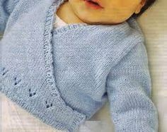 Baby Cardigan This cardigan is Baby Knitting Patterns, Baby Cardigan Knitting Pattern, Knitting For Kids, Baby Patterns, Free Knitting, Knitting Projects, Baby Wraps, Free Baby Stuff, Baby Sweaters
