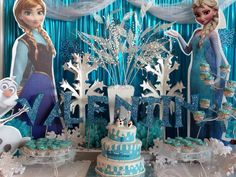 fiestas infantiles frozen decoracion - Buscar con Google