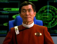 Hikaru Sulu - One of the most interesting characters from the Original Series of Star Trek.