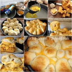 How to make delicious grilled cheese rolls