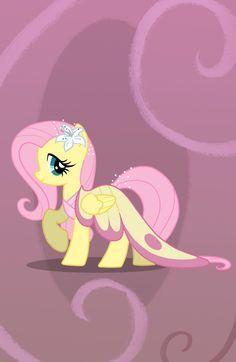 Fluttershy Gala Dress