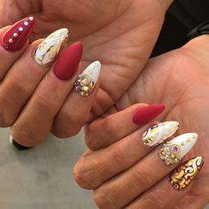 """Fab nails by @malishka702_nails ❤ #spjbeauty  #ignailart #ignails #nailsofig #nailartaddict #nailstagram #nails #nailswag #nails2inspire #nailsonig…"""