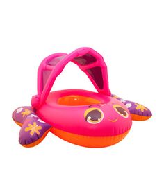 Take a look at this Pink Sun Canopy Boat Float by Swimways on #zulily today! 12.99, regular 20.00. Sale ends in 2 days, 17 hours; or, in other words on Monday, June  9th in the afternoon. So if you're interested, get on it! :)