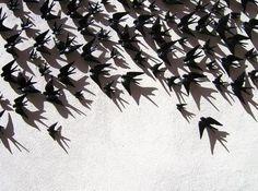Bordalo Pinheiro swallows