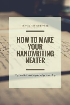 Tired of bad handwriting? If you practice with these tips in mind might see significant improvement. Good penmanship can be a crucial skill for adults. Ready to practise some cursive writing?