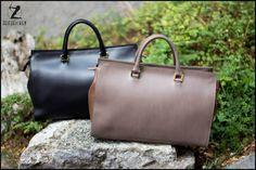 Wie gemacht für einen fashigen Spaziergang durch die Stadt: unsere eleganten Leder-Shopper aus Italien!  129,90 €