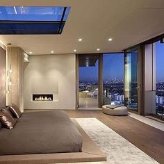Beautiful Bedroom Interior  Checkout @hallofbillionaires for more