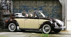 _old vw beetle Vw Bus, My Dream Car, Dream Cars, Carros Vw, Volkswagen Type 3, Vw Cabrio, Old Bug, Beetle Convertible, Vw Classic
