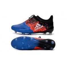 separation shoes 2e25c ea3fb Acquistare Adidas X 16 Purechaos FG-AG Scarpe da calcio Blu Arancia Nero  Vendita