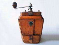 French Vintage wooden COFFEE GRINDER PEUGEOT / French decor /French kitchen decor/ French country /Rustic on Etsy, £32.76