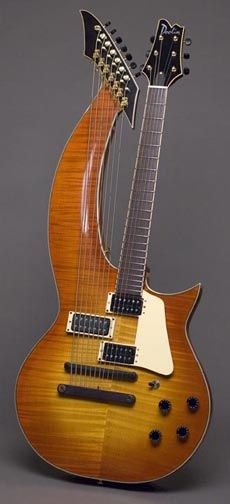 Doolin electric harp guitar