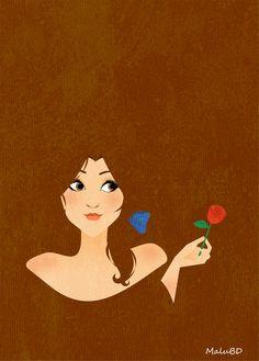 Belle by SuzumeChan.deviantart.com on @deviantART Disney princess