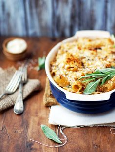 rigatoni with butternut squash and goat cheese