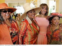 Della Reese, patti LaBelleGayle King & Ruby Dee   c.2006,