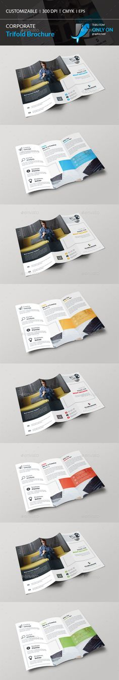 Trifold Brochure  Template Design And Brochures