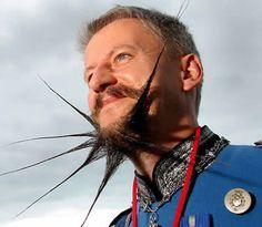 15 Most Bizarre Beards and Mustaches - Oddee.com
