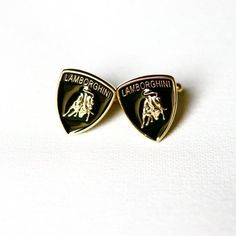 Lamborghini Cufflinks Car Logo
