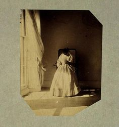 Photographs by Lady Clementina Harwarden, a famous female photographer of the 1860s.