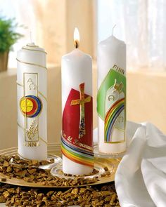 © Kerzen zur heiligen Kommunion & Konfirmation