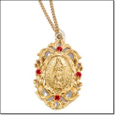 """Avon's Religious Virgin Mary Necklace* Goldtone. Price: special $9.99 Will be $19.99 *Necklace, 16 1/2"""" L chain with 3 1/2"""" extender. Order here: www.youravon.com/mhamilton39 Cute Jewelry, Hair Jewelry, Gold Jewelry, Jewelry Accessories, Jewelry Design, Fashion Jewelry, Quinceanera Necklace, 15 Rings, Virgin Mary Necklace"""
