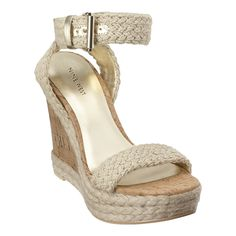 Nine West Funnycat Cork Sandals - sold out but I still want them!