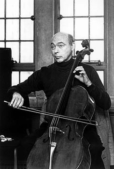 Master Cellist Janos Starker. He left behind a legacy of unparalleled artistry and was recognized as one of the most celebrated cellists of his day, along with Piatigorsky and Rostropovich. He was a distinguished professor at Indiana University, and was famous for having over 150 recordings, including an album of Bach's 6 suites for solo cello for which he earned a Grammy.