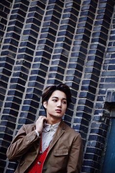 Kpop's EXO, Kai:) One of my favorite new dancers! He's a rapper too:)