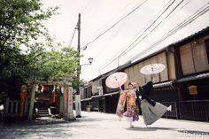 辰巳橋で前撮り*コンチキチンの音とともに♪ |*ウェディングフォト elle pupa blog*|Ameba (アメーバ)