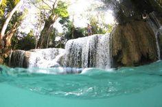 O melhor de Luang Prabang Luang Prabang, Adoro Farm, Laos, Waterfall, Outdoor Decor, Travel, Spaces, Asia Travel, Places