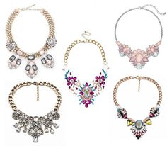 Date Night Outfit: 5 Statement Necklaces Perfect From Day To Date Night #statementnecklace