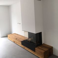 Build A Fireplace, Home Fireplace, Modern Fireplace, Fireplace Design, Living Room Modern, Home Living Room, Living Room Designs, Loft Interior Design, Luxury Homes Interior