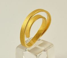 22K Solid Gold Handcrafted Ring No 02561 by DorettaTondi on Etsy