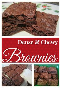 . You Pinspire Me .: Dense & Chewy Brownies
